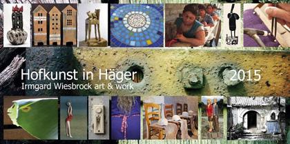 HofKunst in Häger 2015 - Flyer
