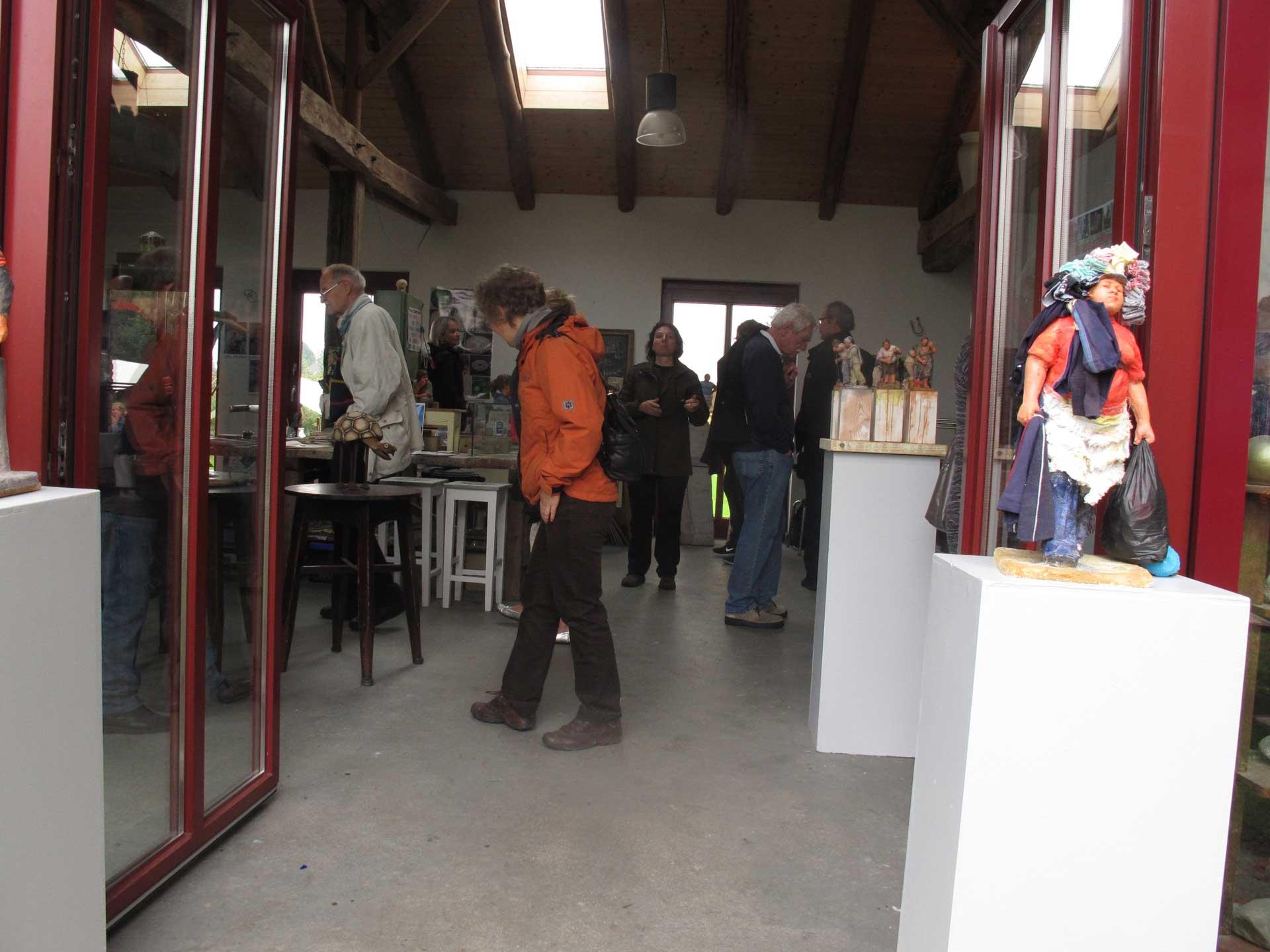 HofKunst in Häger - 2013 - Atelier