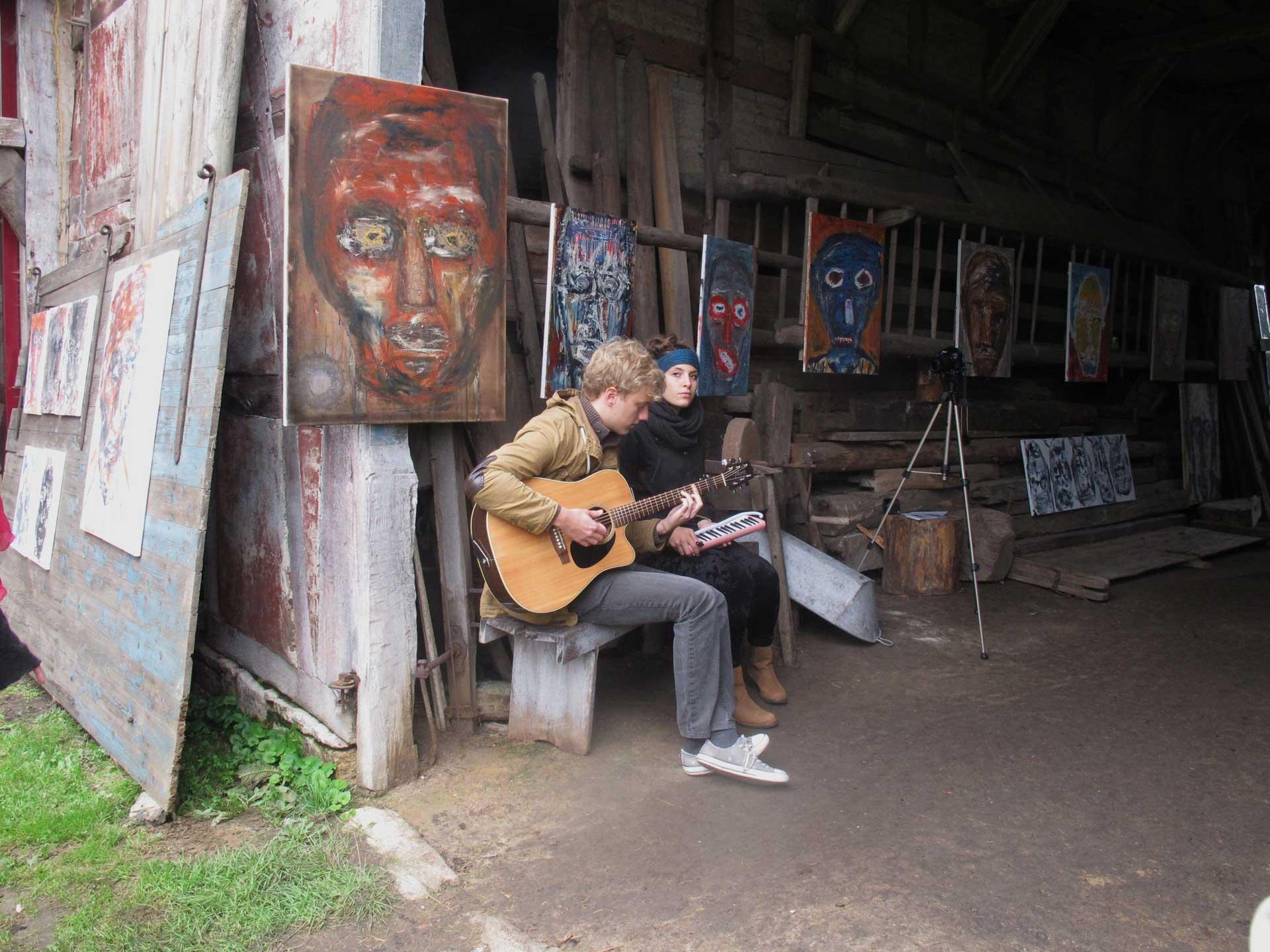 HofKunst in Häger - 2013 - Gitarre
