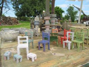 HofKunst in Häger - 2015 - Stühle