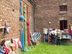 HofKunst in Häger - 2015 - WollWand