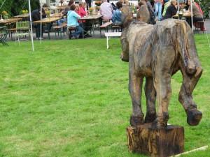 HofKunst in Häger - 2015 - Der Esel