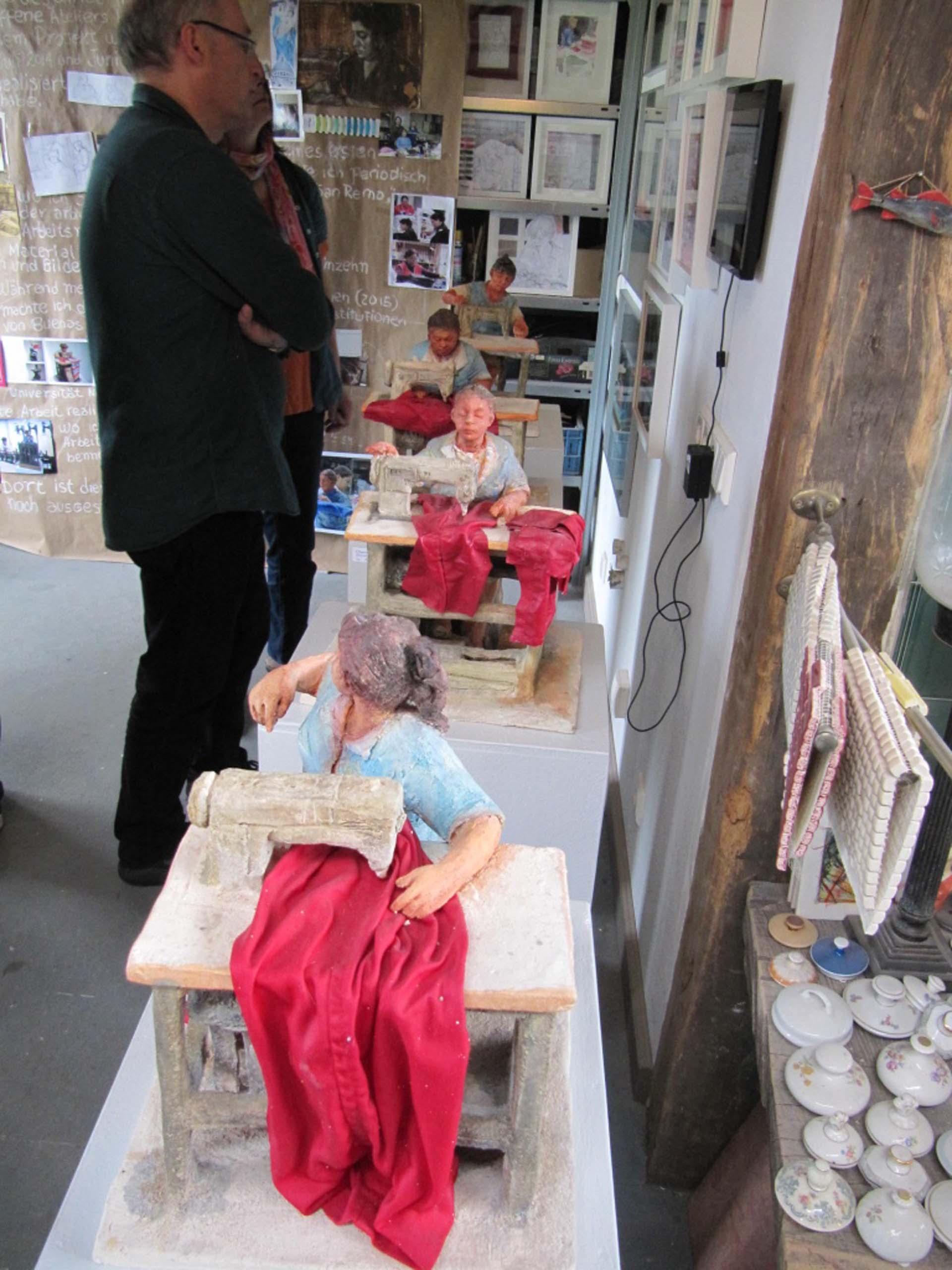 HofKunst in Häger - 2015 - Näherinnen