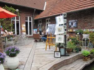 HofKunst in Häger - 2015 - Gartenterasse